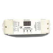 PX24500A 12V 24VDC 3 Channels LED RGB Constant Voltage DMX Decoder Euchips Controller