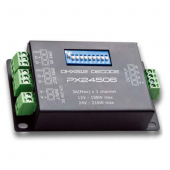 PX24506 3 Channels DMX Constant Voltage Decorder for RGB Light