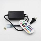 AC 110V 220V RGB Led Controller IR Remote For 5050 3528 Strip Lights