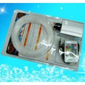 RGB LED Light Engine 150pcs 2M End Glow PMMA Optical Fiber 20Key Remote