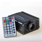 160pcs Stars Light Fibers With 16w Rgbw Led Fiber Optic Engine Remote Controller