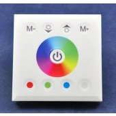 Touch Panel Full Color Dimmer Controller For RGBW RGB Strip 12-24V