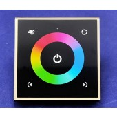 RGBW Wall LED Controller 4 Channels Touch Panel Controller