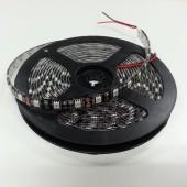 5050 Black PCB LED Light Strip 5M 300 LEDs Waterproof Ribbon 12V