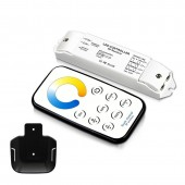T5-R3 Bincolor Led Controller Mini Wireless Remote NW WW Dimmer Receiver Set