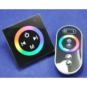 TM080 LED Touch Panel RGB Controller with remote DC 12V 24V 3 Channels