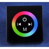 Wall Mount Touch Panel RGB Embed LED Controller 12V 24V