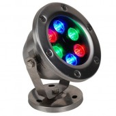 6W Underwater LED Light IP68 Waterproof Swimming Pool Fountain Aquarium Fish Tank Pond 12V/24V Lamp