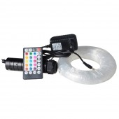 3M PMMA fiber optic star ceiling light with 6W RGB LED illuminator for car roof star ceiling