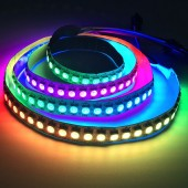 WS2812B LED Strip 144 LEDs/M Individually Addressable 5V 1M 2812b Light
